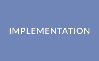 Implementation Modules 1.6a-c