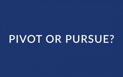 Pivot or Pursue Reflection Questions
