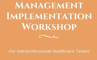 CCM Implementation Workshop