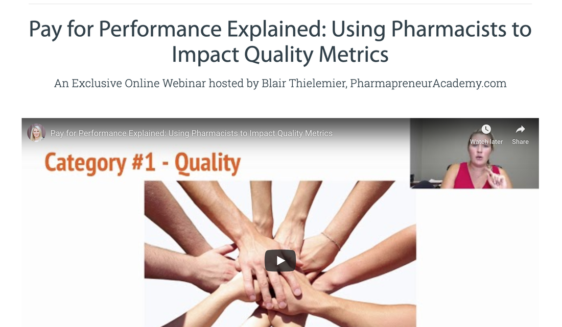 [Free Webinar] – Using Pharmacists to Improve Quality Metrics in Primary Care