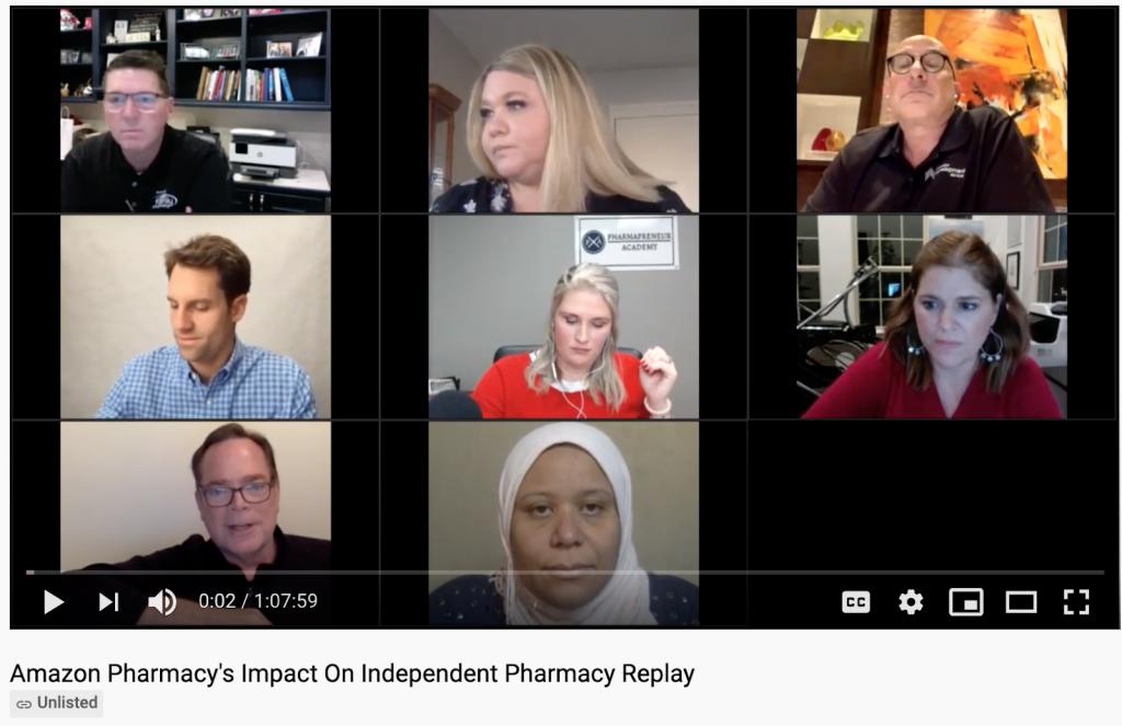 Amazon Pharmacy's Impact on Independent Pharmacy - Replay