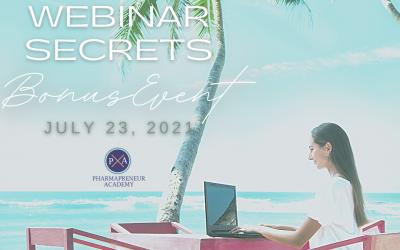 Webinar Secrets July 2021